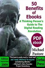 50 Benefits of Ebooks: Edition September 2009