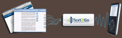Visit the Text2Go website and start a free 30 day trial