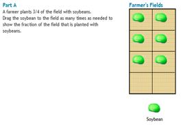 Screenshoot of PARCC Sample Test Item