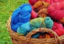 Knitting is a repetitive meditation that stills the mind and creates art with color and texture.