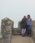 Exploring a Moorish castle in Portugal with my sister-in-law while my brother did Monty Python sketches from the turrets