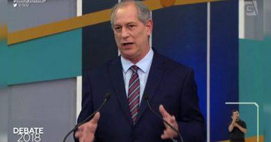 No meu governo General Villas Bôas estaria demitido e pegaria cana, diz Ciro Gomes