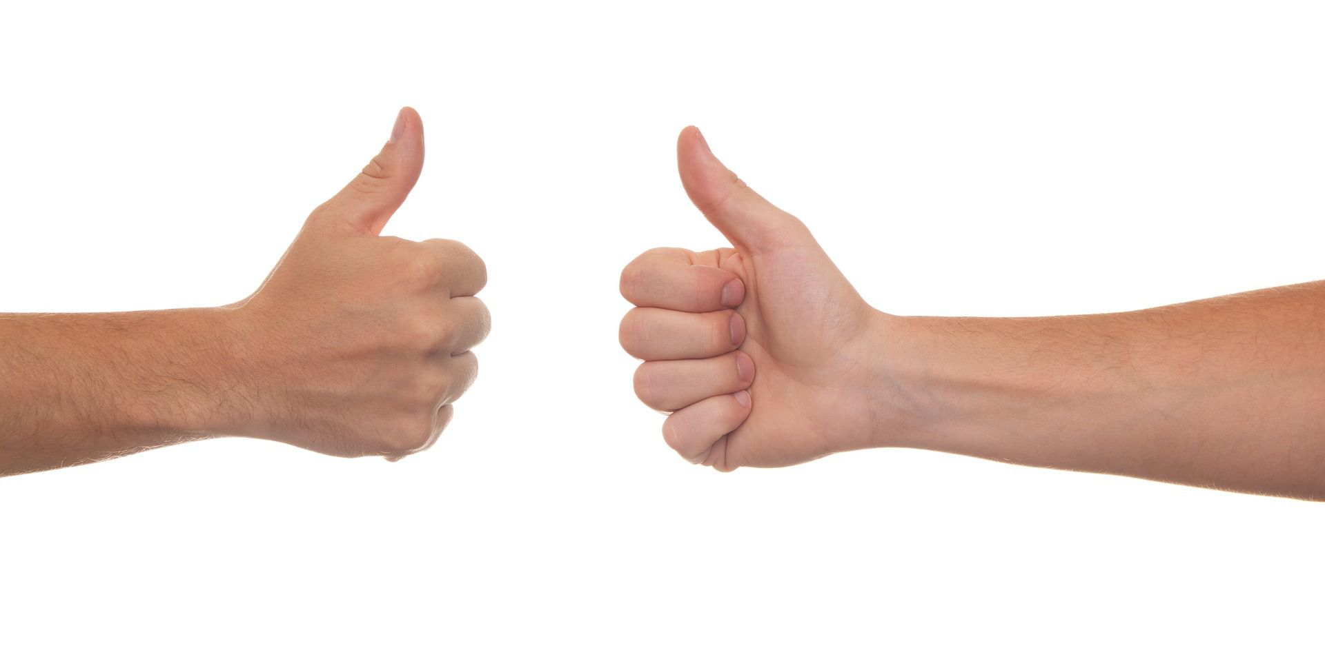 Being Open to Ideas: Thumbs Up