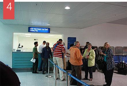 Get Vietnam visa stamped upon arrival