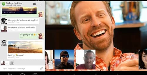 Hangouts se actualiza para acercarse a los usuarios corporativos