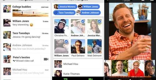 Hangouts presenta novedosas actualizaciones para iOS