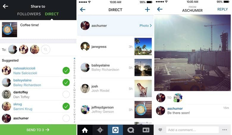 Instagram va directo!
