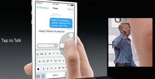 """iOS8 incorpora nuevas funciones a """"iMessages"""", su servicio de mensajería instantánea"""