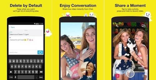 Snapchat estrena nuevas funciones