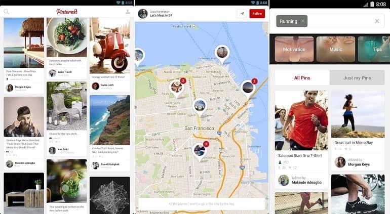 Pinterest - Guía de Instalación para Android