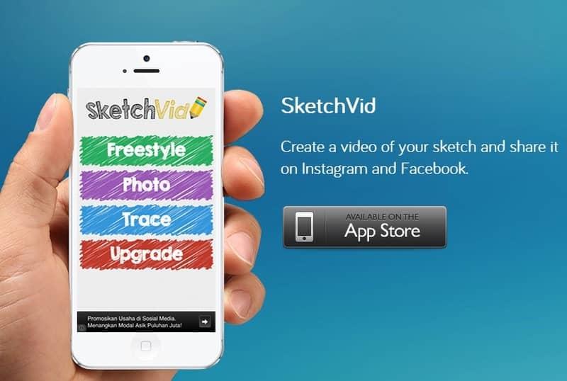 SketchVid te convierte en un artista, y pone tu obra en video para Instagram