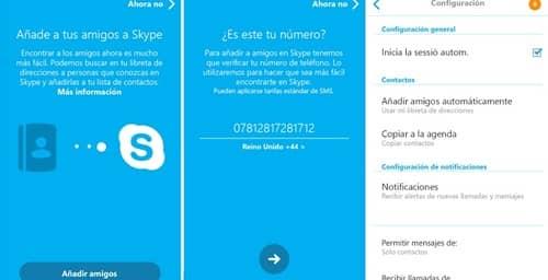 Skype se actualiza para Android, facilitando la búsqueda de amigos