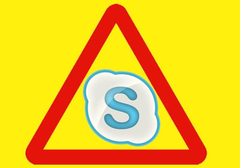 ¡Cuidado! Un mensaje puede romper tu Skype