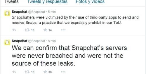 Snapchat sufre un ataque directo a su servicio