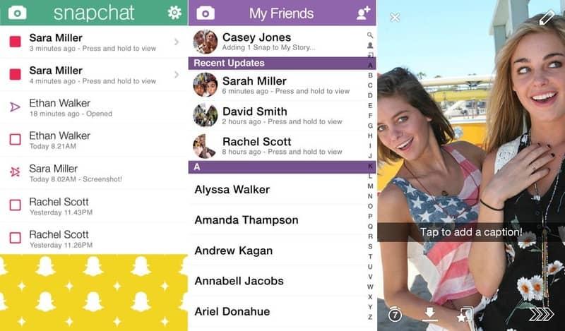 Configurar seguridad en Snapchat