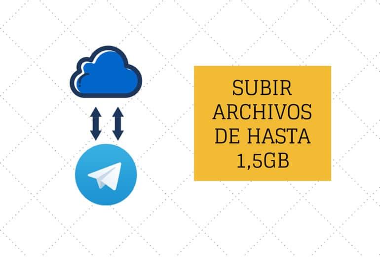 Una nueva versión de Telegram que permite transferir archivos de hasta 1,5 GB