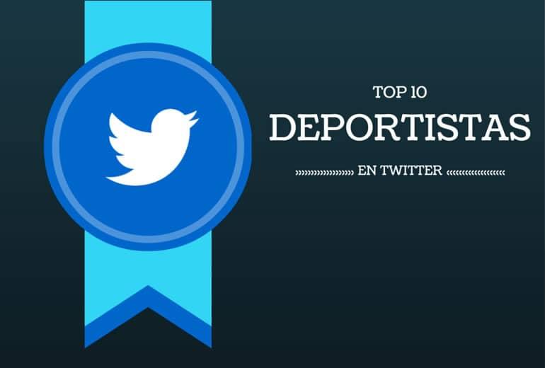 Los 10 deportistas que llegaron al podio de Twitter en 2014