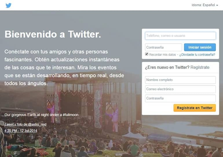 Twitter permite enviar Mensajes Directos entre todos los usuarios
