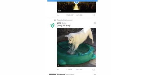 Twitter ahora reproduce automáticamente los videos.