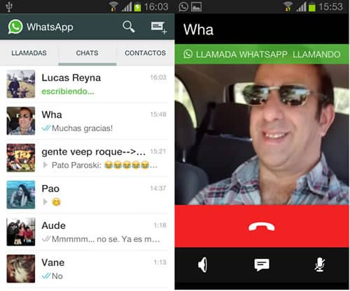 Whatsapp tendría todo listo para efectuar llamadas desde su plataforma