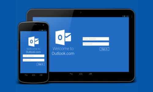 Outlook quiere hacerse fuerte y seguro en dispositivos móviles