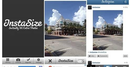 Instasize, permite publicar tus fotos enteras y sin recortes en Instagram
