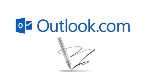 Outlook.com con nuevas características para la firma de usuario
