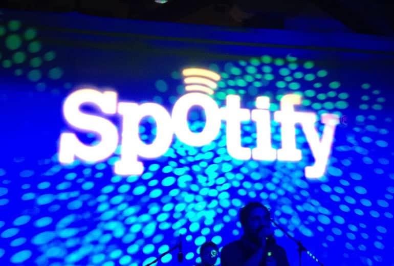 Spotify promueve su servicio de listas