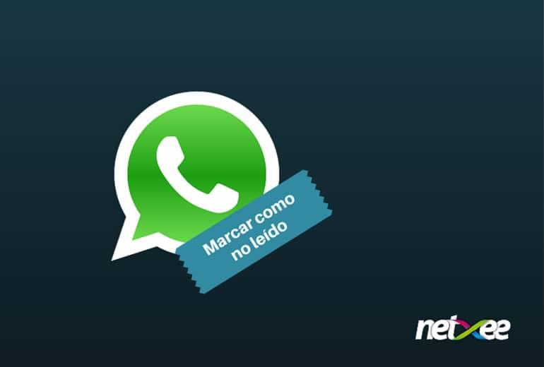 WhatsApp permite cambiar el estado de lectura de sus mensajes