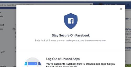 Facebook mejora su configuración de seguridad con esta herramienta