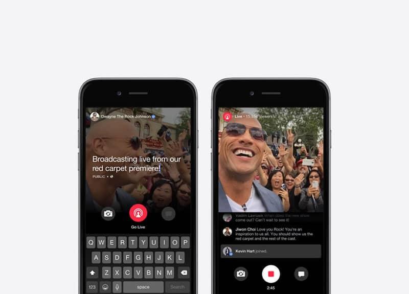 """Facebook presenta """"Mentions"""" su servicio de streaming de video"""
