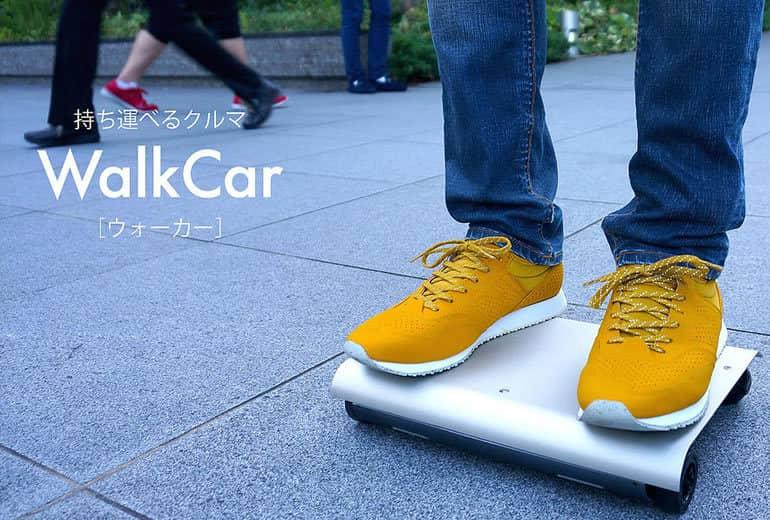 WalkCar, la pequeña plataforma japonesa para trasladarse