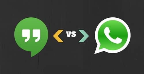 Hangouts se independiza para competir con WhatsApp