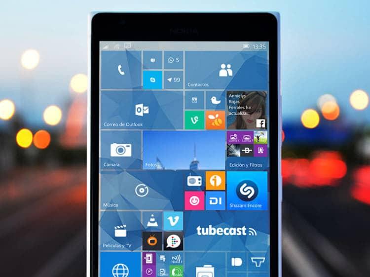 Microsoft anuncia los teléfonos compatibles con Windows 10