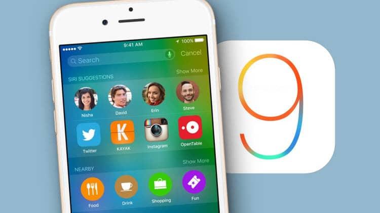 Ya puedes descargar iOS 9