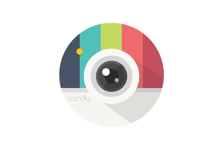 Candy Camera edita tus fotos con cientos de posibilidades creativas