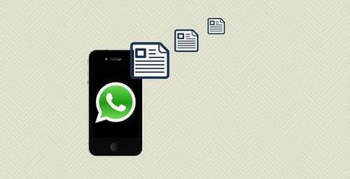 WhatsApp permitirá enviar documentos de texto adjuntos