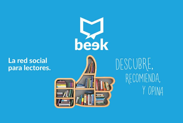 Beek es la red social para lectores, que permite conocer tu próximo libro