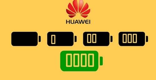 Huawei presentó baterías que logran cargarse en un 50% en sólo 5 minutos