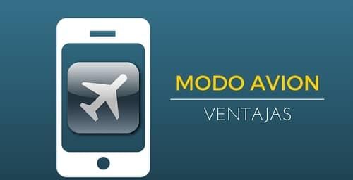 Algunas ventajas de utilizar el modo avión en tu smartphone
