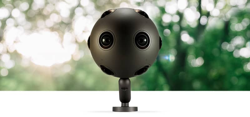 Nokia apuesta con OZO, una cámara para filmar en realidad virtual