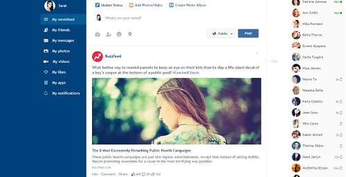 Facebook Flat: nuevo diseño y botón que te permite conocer quien visita tu perfil (en serio)