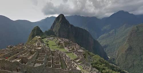 Con Google Street View ya se pueden recorrer las ruinas de Machu Picchu