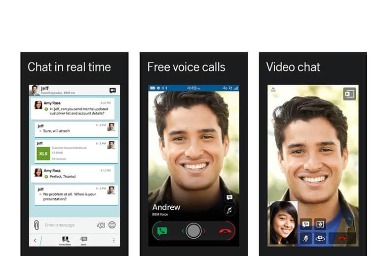 BlackBerry actualiza BBM para dispositivos Android