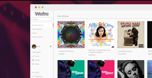 Wefre, la nueva alternativa gratis y legal que enfrenta a Spotify