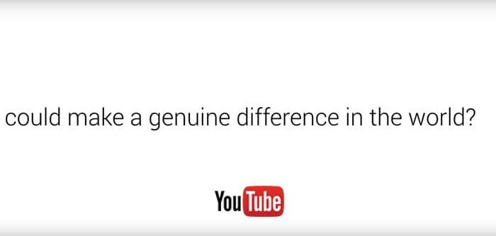 Donation Cards de Youtube: tus videos ayudan a financiar proyectos solidarios