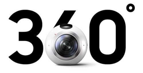 Samsung lanza Gear 360, la cámara que graba en 360°