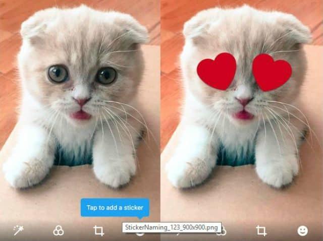 Fotos con Stickers ahora en Twitter