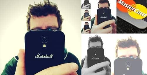 Se podrá comprar con sólo tomarse una selfie