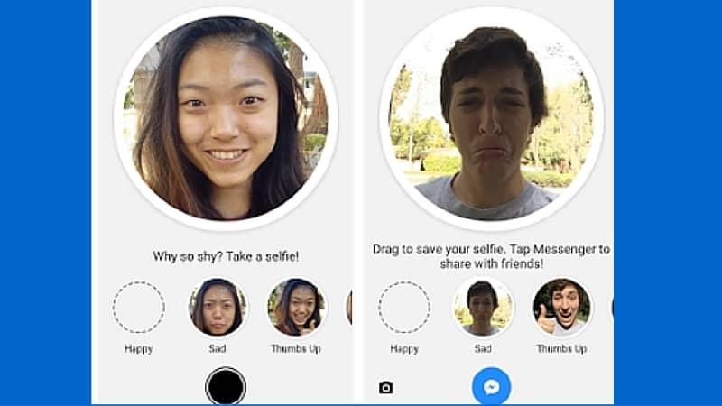 Utiliza tu cara para crear emoticones en Facebook Messenger